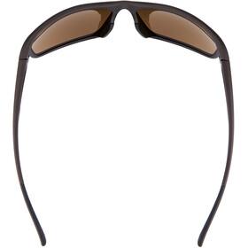 Alpina Defey Glasses tin matt-black/brown mirror
